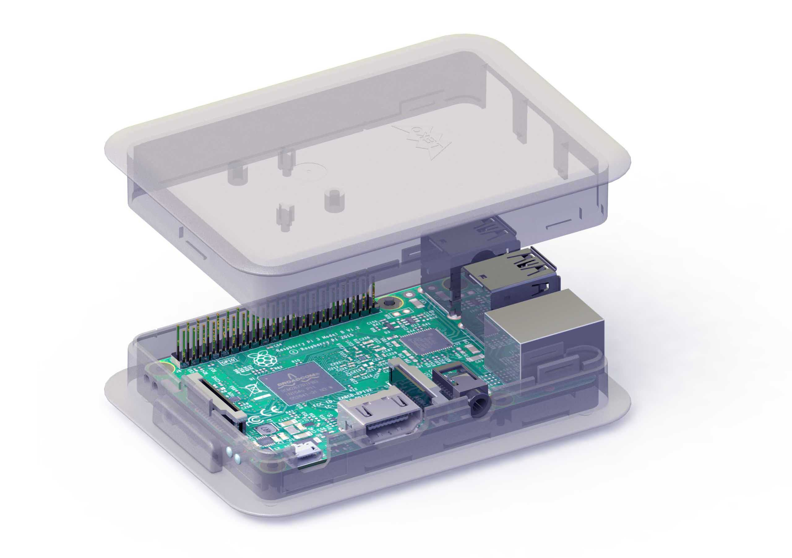 Raspberry Pi 3 Model B case