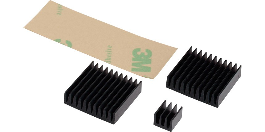 RPI-COOLKIT - Raspberry pi Heatsink cooling kit